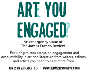 An Emergency Issue: Art andEngagement